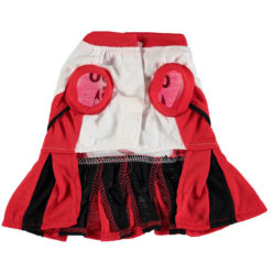 Chicago Bulls NBA Dog Cheerleader Dress back