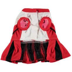 Chicago Bulls NBA Dog Cheerleader Dress back
