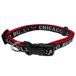 Chicago Bulls Nylon Dog Collar NBA