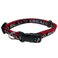 Chicago Bulls Nylon Dog Collar NBA