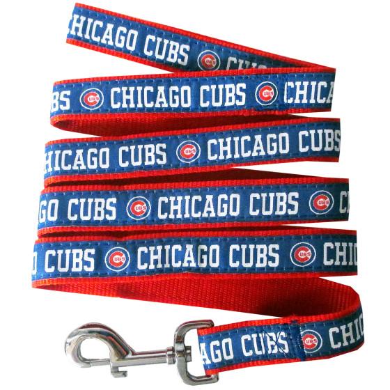 Chicago Cubs nylon dog leash