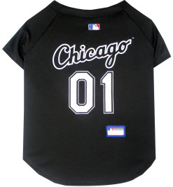 Chicago White Sox dog jersey back