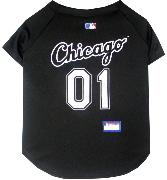 Chicago White Sox dog jersey back