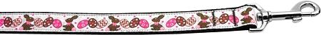 Chocolate Bunnies & Eggs Nylon Webbing Dog Leash