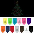 Christmas tree ornaments rhinestone bandana