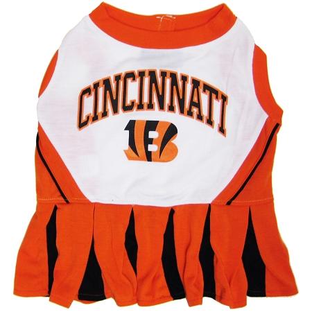 Cincinnati Bengals NFL dog cheerleader dress