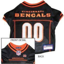 Cincinnati Bengals NFL dog jersey