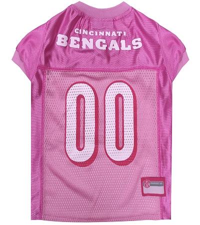 Cincinnati Bengals Pink Dog Jersey