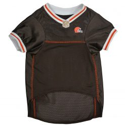 Cleveland Browns Dog Jersey Front View