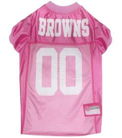 Cleveland Browns NFL Pink Dog Jersey