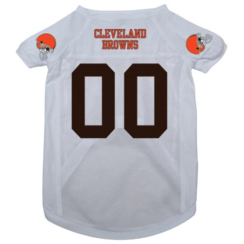 Cleveland Browns NFL dog jersey alternate style