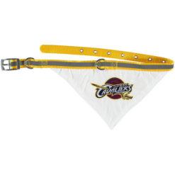 Cleveland Cavaliers Adjustable Dog Collar and Bandana opemn