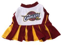 Cleveland Cavaliers Dog Cheerleader Dress