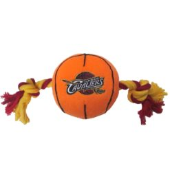 Cleveland Cavaliers Dog and Rope Plush NBA Toy