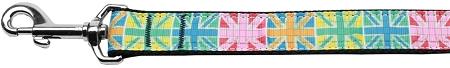 Colorful Union Jack Flag Dog Leash