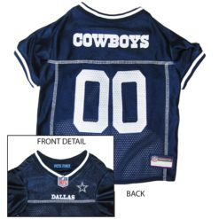 Dallas Cowboys NFL dog jersey