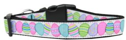Decorated Easter Eggs Nylon Adjustable Dog Collar