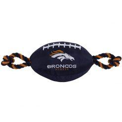 Denver Broncos Dog Football Toy