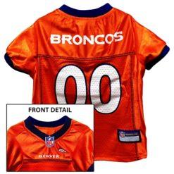 Denver Broncos NFL dog jersey
