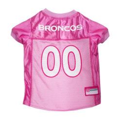 Denver Broncos Pink NFL Dog Jersye