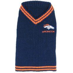 Denver Broncos turtleneck NFL dog sweater