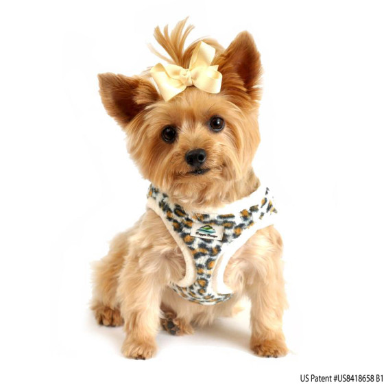 Designer Leopard Dog Harness