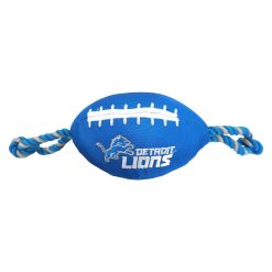 Detroit Lions Dog Football Toy