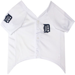 Detroit Tigers MLB dog jersey front