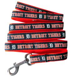 Detroit Tigers nylon dog leash