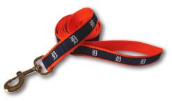 Detroit Tigers reflective dog leash nylon