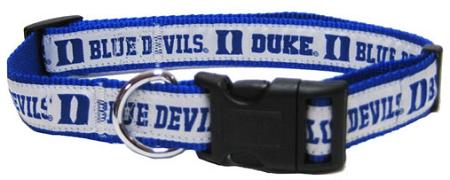 Duke University Blue Devils nylon dog collar