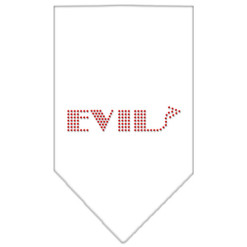 Evil arrow dog bandana white