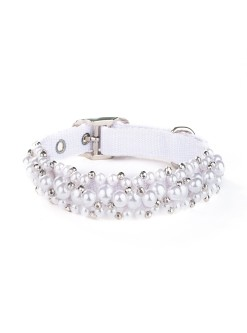 Fabuleash Crystal Beaded Dog Collar