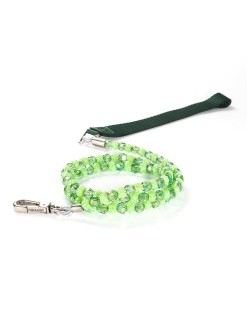 Fabuleash Green Beaded Leash for Dogs