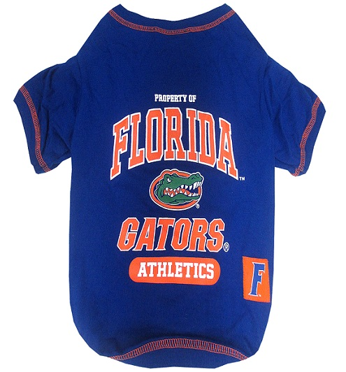 Florida Gators athletics dog t-shirt