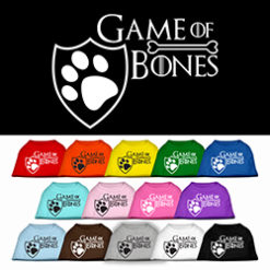 Game of Bones Dog Shirt