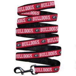 Georgia Bulldogs Nylon Dog Leash