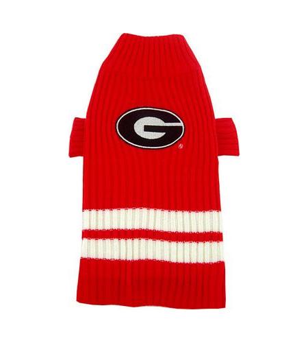 Georgia Bulldogs Turtleneck Dog Sweater