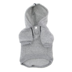 Glacier Gray Doggie Design Sport Dog Hoodie back