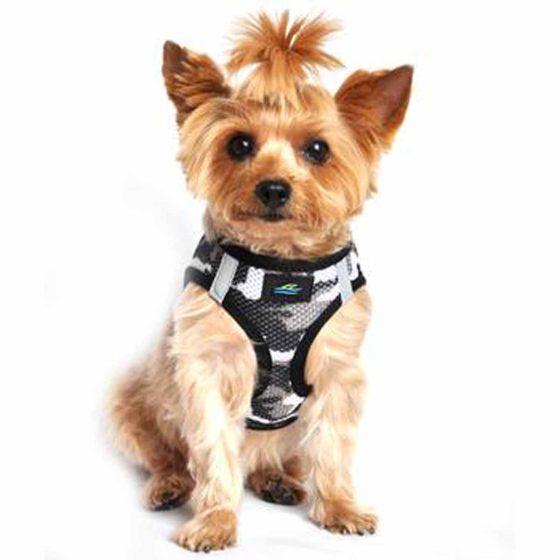 Gray Camo Doggie Design Harness