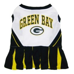 Green Bay Packers NFL cheerleader dog dress