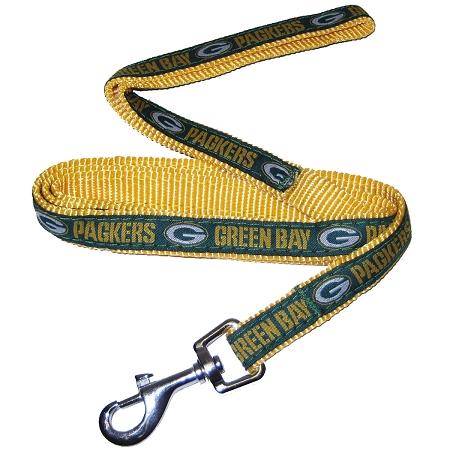 Green Bay Packers NFL nylon dog leash