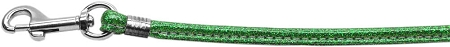 Green Glitter Dog Leash