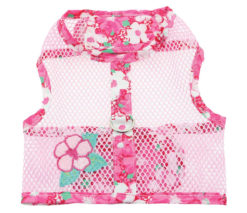 Hawaiian Hibiscus Cool Mesh Dog Harness Product