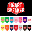 Heart Breaker dog bandana