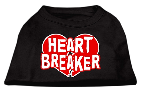 Heartbreaker dog t-shirt sleeveless black