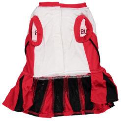 Houston Rockets NBA Dog Cheerleading Dress back