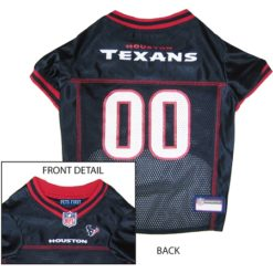 Houston Texans NFL dog jersey