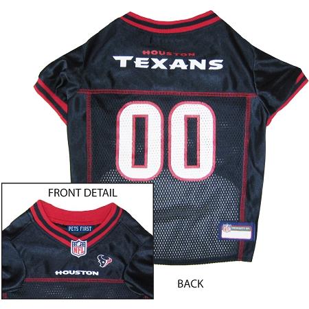 Houston Texans NFL dog jersey