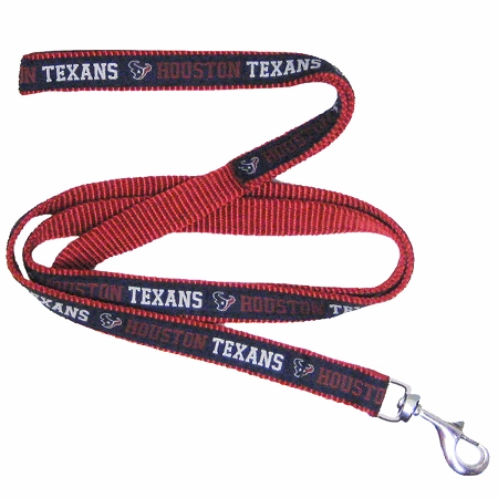 Houston Texans NFL nylon dog leash